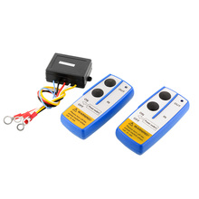 New Wireless Electric Winch 12V DC Remote Control Switch 50ft For Vehicle Car Truck Jeep Auto Accessories(China (Mainland))