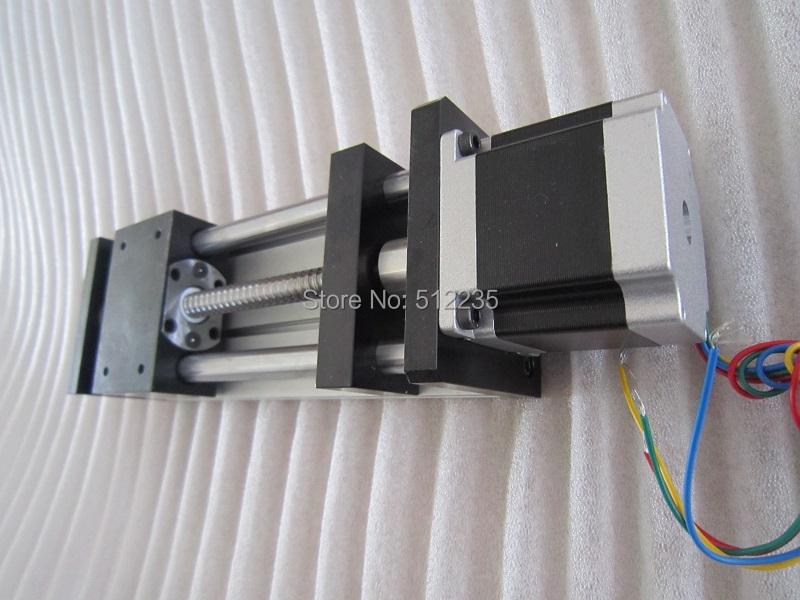 High Precision CNC GGP ballscrew 1204 Sliding Table effective stroke 700mm+1pc nema 23 stepper motor XYZ axis Linear motion(China (Mainland))