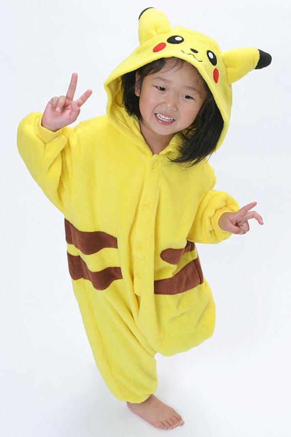Wholesale Children Pikachu Pajamas Onesie Animal casual Pokemon ...