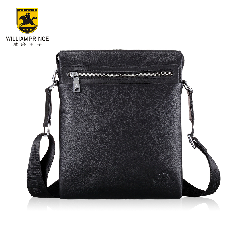 William 2013 genuine leather shoulder bag fashion first layer cowhide messenger casual man - Future idear store