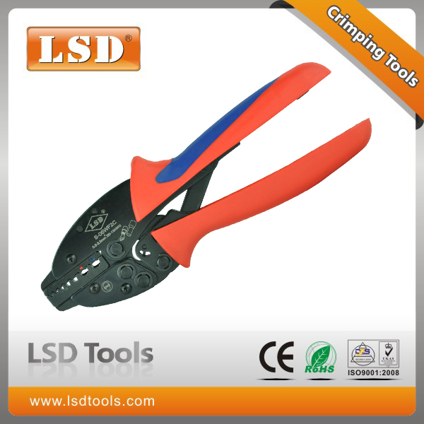 S-06WF2C terminal crimping tool for 0.5-2.5mm2 wire-end ferrules and insulated cable links prefessional hand crimping pliers(China (Mainland))