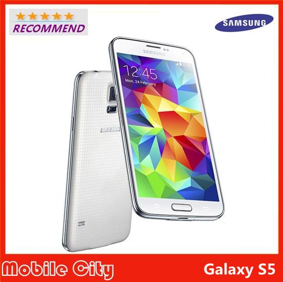 "Original Samsung Galaxy S5 G900F Refurbished Unlocked Mobile Phone 5.1"" Quad Core Smartphone 16MP GPS NFC WIFI Free Shipping(China (Mainland))"