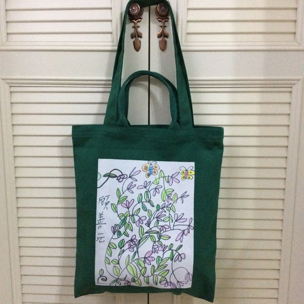 Customize the child draws the canvas bag personality original unisex shoulder bag women handbag child's drawing large bag(China (Mainland))