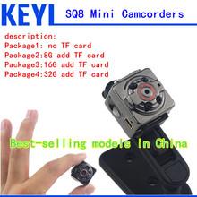 Spy Mini Camera SQ8 HD 1080P 720P Sport Espia DV Voice Video Recorder Infrared Night Vision Digital Small Cam Hidden Camcorder(China (Mainland))