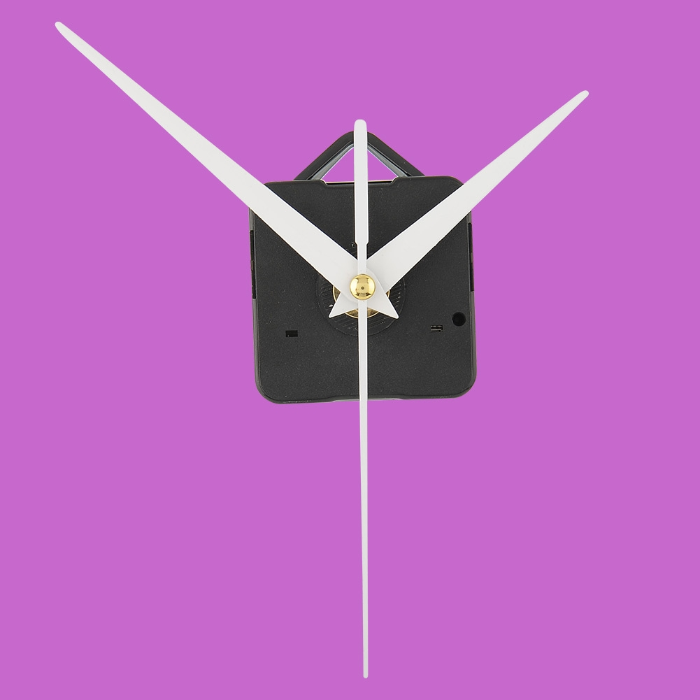 High Quality Quartz Useful Clock Movement Wall Amounted Mechanism DIY Repair Parts & White Hands Hour Minute Second Hand(China (Mainland))