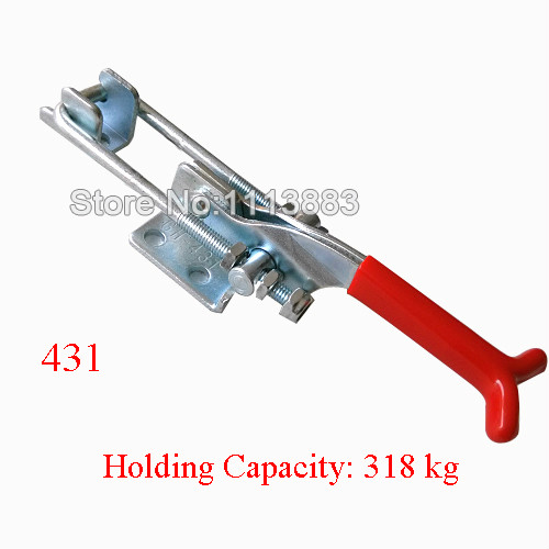 5PCS 318KG 701LBS Quick Release Latch Type Toggle Clamp 431(China (Mainland))