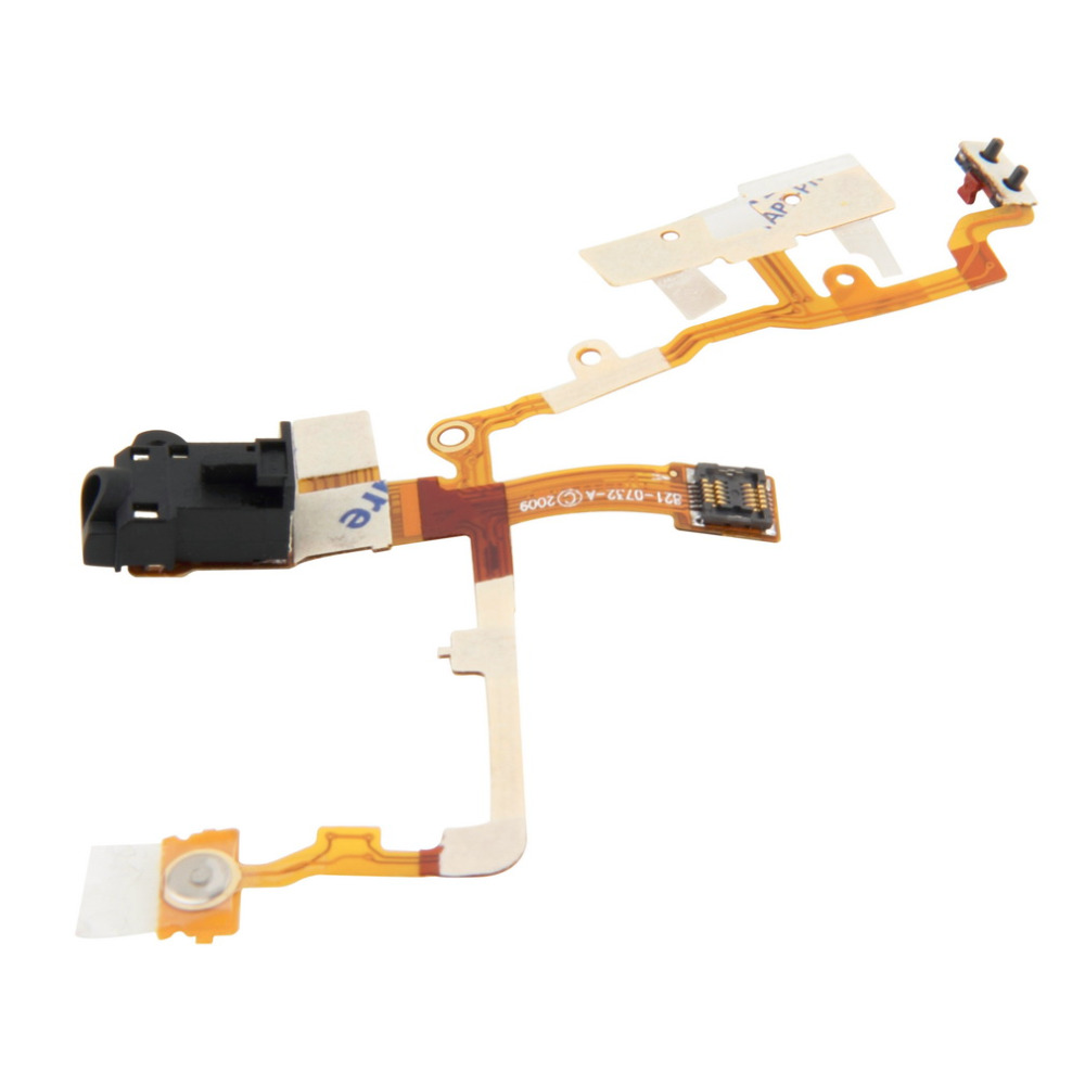 Headphone Audio Jack Ribbon Flex Cable Replacement Part for iPhone 3G 3GS(China (Mainland))