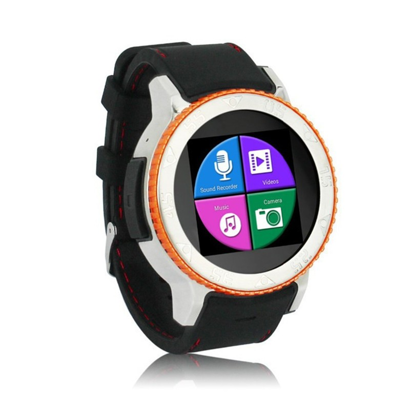 2 color new S7 Smart Watch Clock Support Sim Card Bluetooth Wifi,GPS,Compass,pedometer,QQ,wexin,Facebook,Twitter,Skype download(China (Mainland))