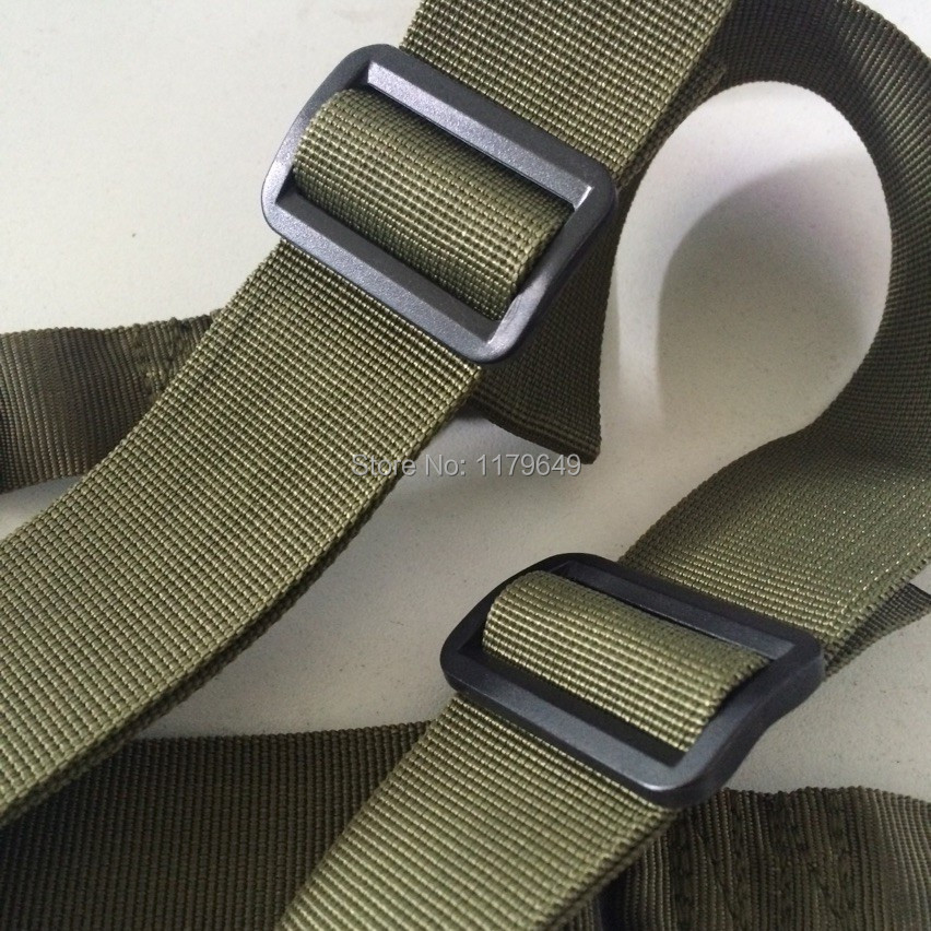 Army green firm shooting gun sling hunting rifle carrying straps and gun belts