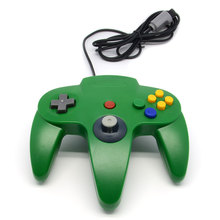 Hot Long Handle Game Controller Pad Gamepad Green For Nintendo 64 N64 System Replacement Classic Design