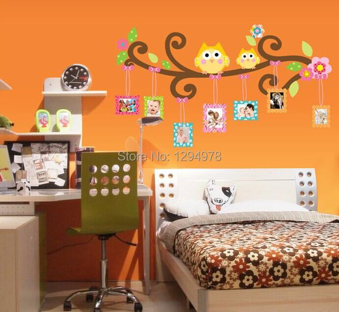 People favorita de la mascota medidor consumo de energia imagen marco de fotos de fotos pegatinas de pared decorar la sala de estar niños dormitorio pegatinas de pared CC6965(China (Mainland))