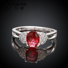 R008-A 925 Silver plated fashion ring for women jewelry accessories nickle free