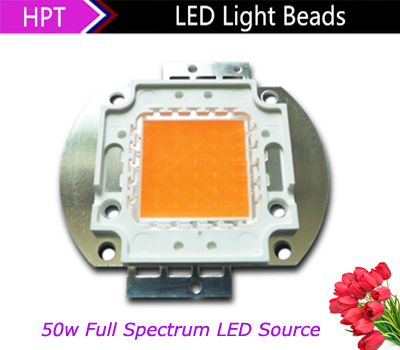50W LED Grow chip full spectrum 380nm 840nm grow leds for hydroponics Epileds DIY Led grow light for flowering plants(China (Mainland))