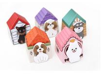 5 unidades kawaii mascotas perrito de la historieta notas adhesivas de escritorio creativos post it bloc de notas filofax cojines de nota oficina suministros de la escuela casa(China (Mainland))