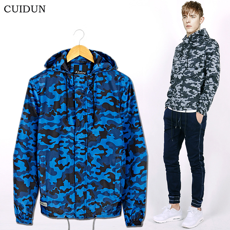 2016 Latest Plus Size Mens Camo Jackets Teens Spring Leisure Slim Boys Hooded Coat Young Mens Outdoor Jackets Free ShippingОдежда и ак�е��уары<br><br><br>Aliexpress