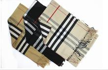 2015 hot new fashionable woman ladies multi color grid style scarf classic women long scarf shawl 3 color(China (Mainland))