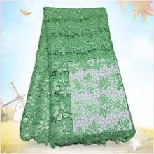 2015 african lace fabrics shaoxing textile high-end cotton nylon lace trimming guipure lace fabric g150603(China (Mainland))