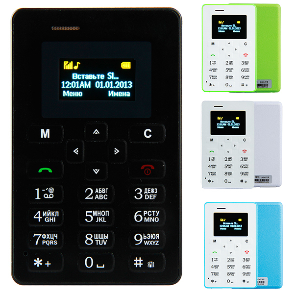 AIEK M5 Russian keyboard MINI cell phones Low-E slim little mobile phone(China (Mainland))