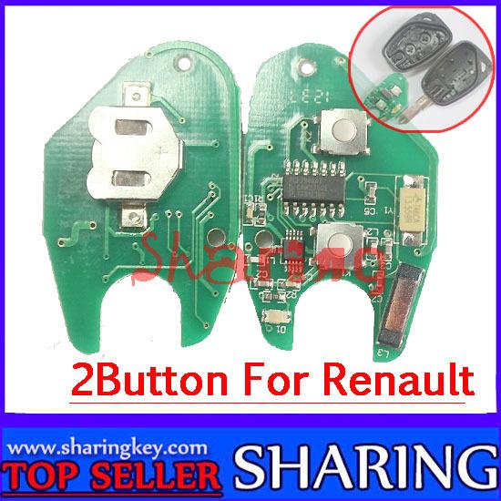 Renault Vivaro Movano Kangoo Master Trafic Intersta Primastar 2 Button Remote PCB<br><br>Aliexpress