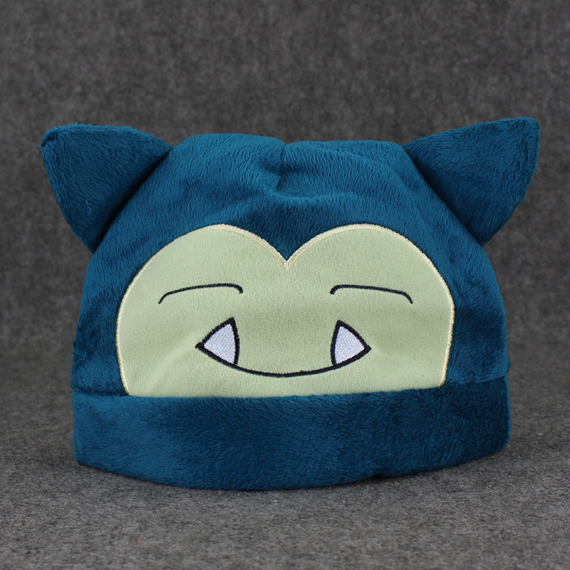 New Pokemon Adult Plush Warm Hat Cap Beanie Costume Cosplay Glaceon