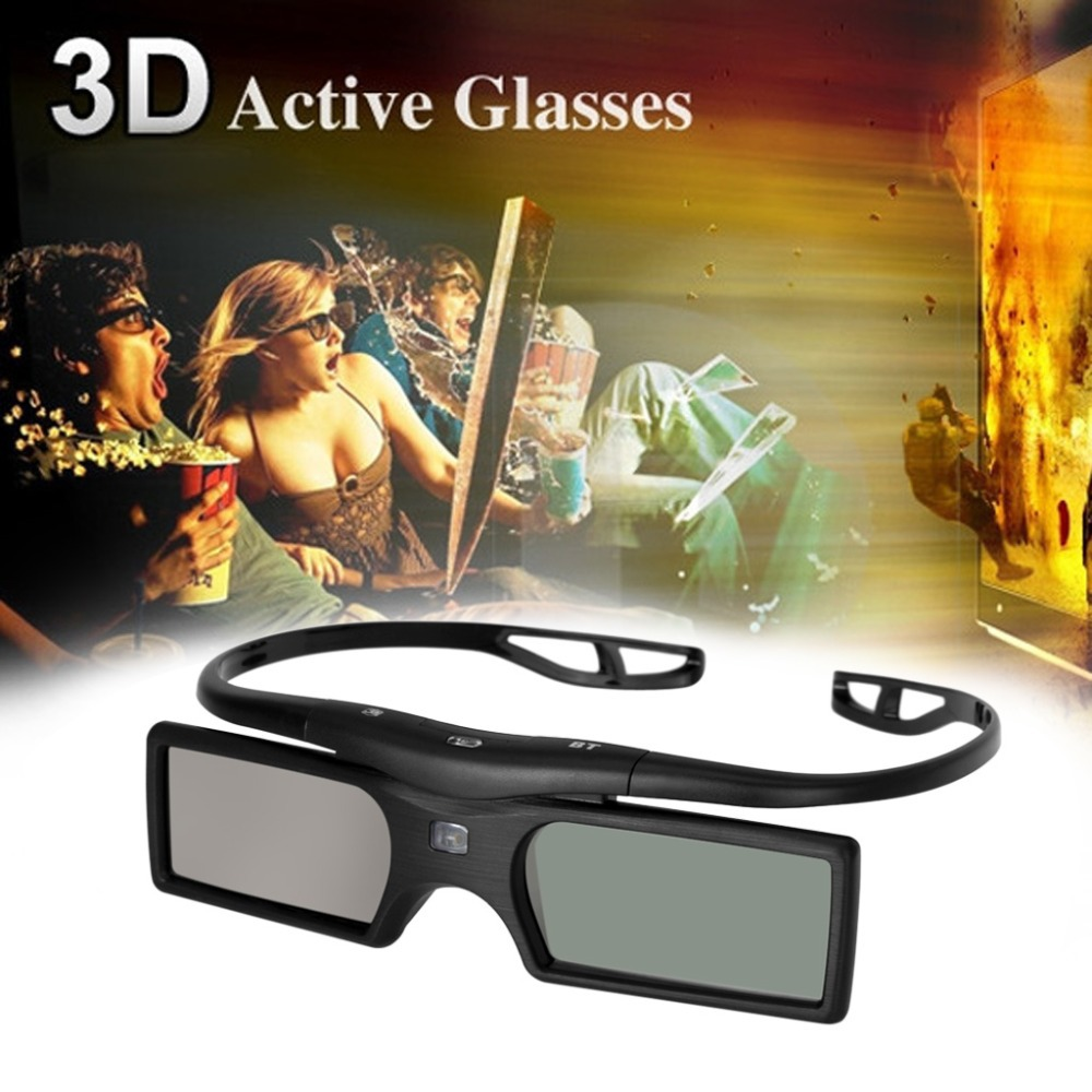 New Brand Bluetooth 3D Active Shutter TV Glasses With LCD Shutter Technology For Samsung/Panasonic/Sony 3D TV Free Shipping(China (Mainland))