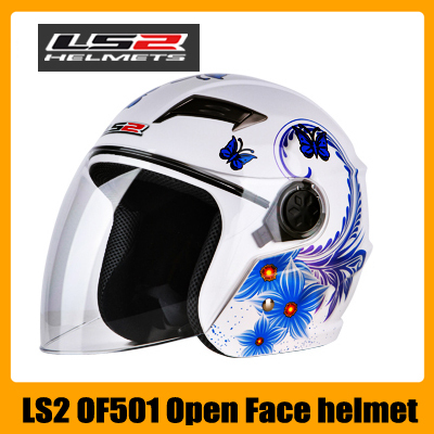 LS2 OF501 Motorcycle Helmets for Electric Racing Motorcycle For Sale Half Motocross Helmet(China (Mainland))