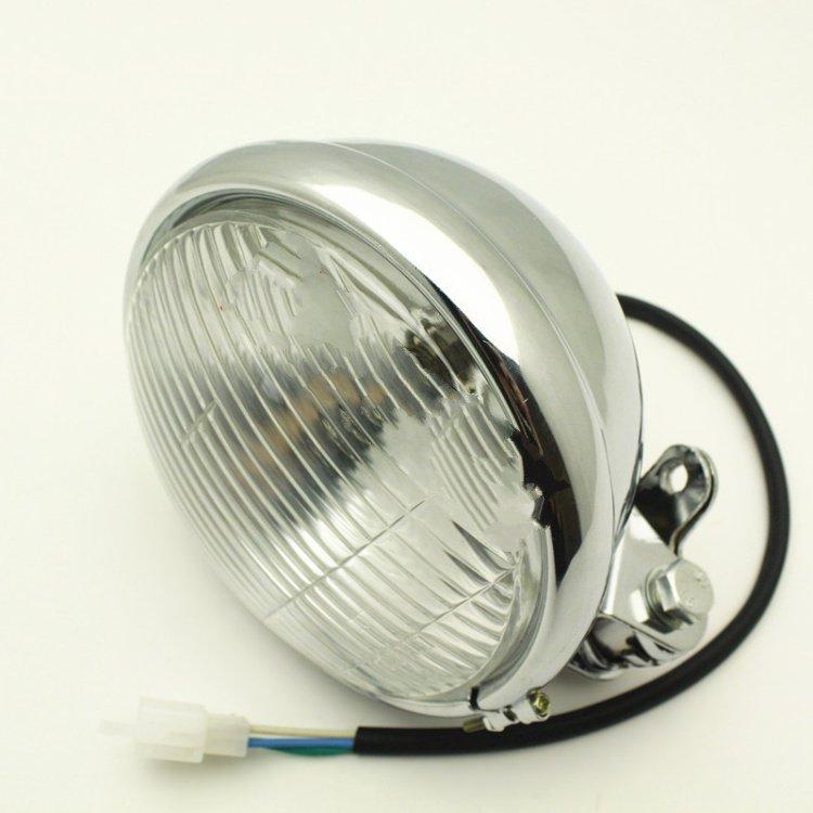 Vintage Bobber Chopper Motorcycle Headlight Headlamp Assembly(China (Mainland))