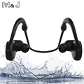 M J IPX7 Waterproof Wireless Bluetooth Headset Stereo Handsfree Sport Earphone With Microphone for iPhone Samsung