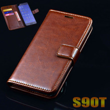 Lenovo S90 S90T case cover luxury leather flip Phone Bags for Lenovo S90 ultra thin Business wallet Mobile Phone Bags Case cover