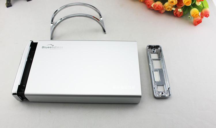 "High quality Hdd box 3.5""USB 2.0 TO SATA 2TB IDE USB Hdd Case USB External Enclosure Combo external docking station BS-U3PA(China (Mainland))"
