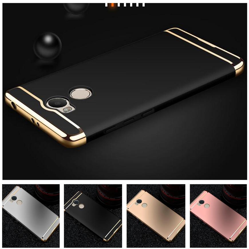Cover Xiaomi Redmi 4 pro prime phone case Plating cover Luxury Hard Back Redmi 4 Pro Case Redmi 4 Pro Prime case cover