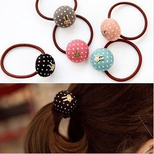 Fashion cute simple hair jewelry for women 5 Colour T6198