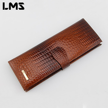 LMS 2016 New Fashion Men Women Wallet Purse Credit Card Holder Brand PU Leather Cover on The Passport Women Business Card Holder(China (Mainland))