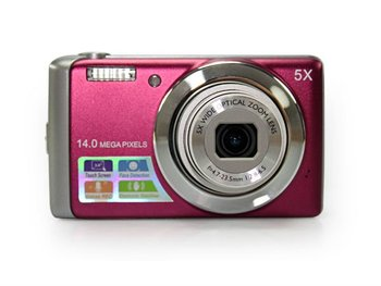 """Wholesale 14MP 3.0"""" Touch Screen LCD  5X Digital Zoom 5X Optical Zoom Digital camera DC-T500"""