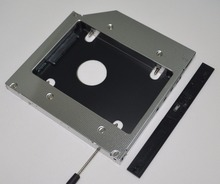 2nd Hard Drive HDD Caddy Adapter for HP Pavilion dv6 6060ep 6b13es TS-L633R DVD