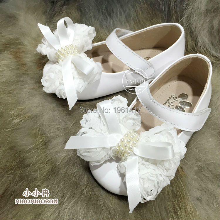 2016 Quality Girls Dress Shoes Princess Handmade Bow Factory Price Direct Selling - My store
