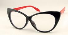 Sexy Vintage Fashion Cat Eye Shape Women Lady Girls Plastic Plain Eye Glasses