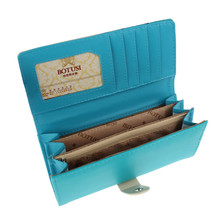 Factory price New Clutch Checkbook Money Clip Change Bag Purse Wallet Fox Love jul15