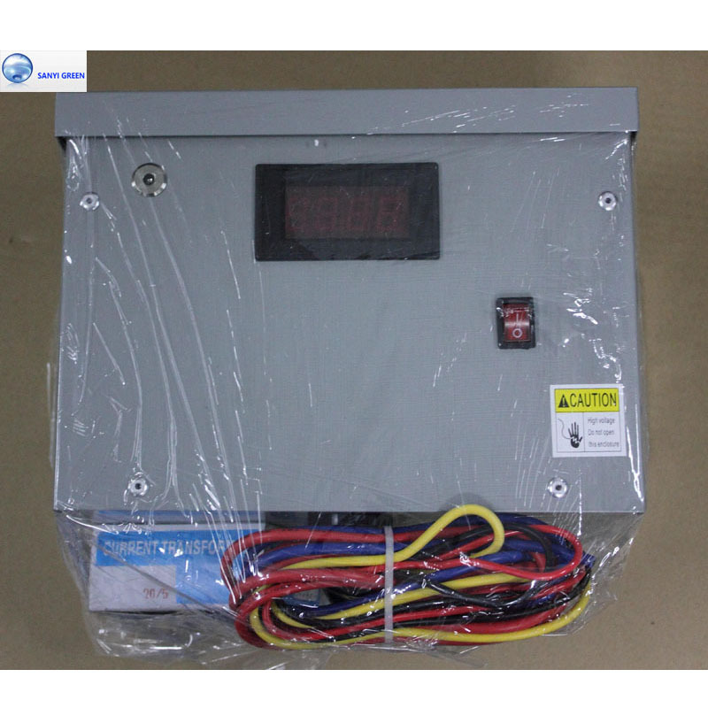 500KW 3 Phase Power Saver Save Electricity Energy Device For Industrial and Commercial Area with Amp Meter Display Power factor(China (Mainland))