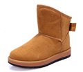 Fashion new women s snow boots winter warm keep casual solid color round toe hot sales