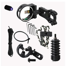 archery upgrade combo bow sight kits arrow rest stabilizer Compound Bow Accessories for Compound Bow(China (Mainland))