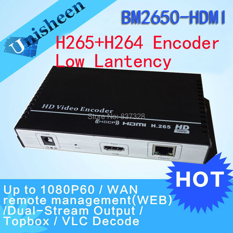 HEVC H.265 MPEG-4 AVC/H.264 HDMI Encoder Replace HD Video Capture Card(China (Mainland))