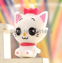 free shipping 2013 New Hot sales cartoon mini cat baby model USB 2.0 Flash Memory Stick Drive U Disk Festival Thumb/Car/Pen Gift(China (Mainland))