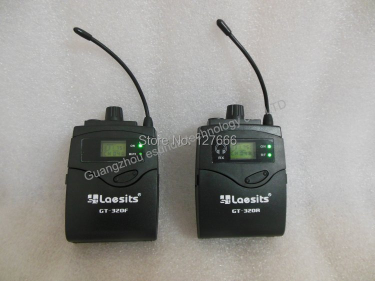 Wireless On-Camera (ENG) Systems, DSLR Camera Wireless System for Outdoor Interview Recording, IR function UHF PLL GT-320 eng