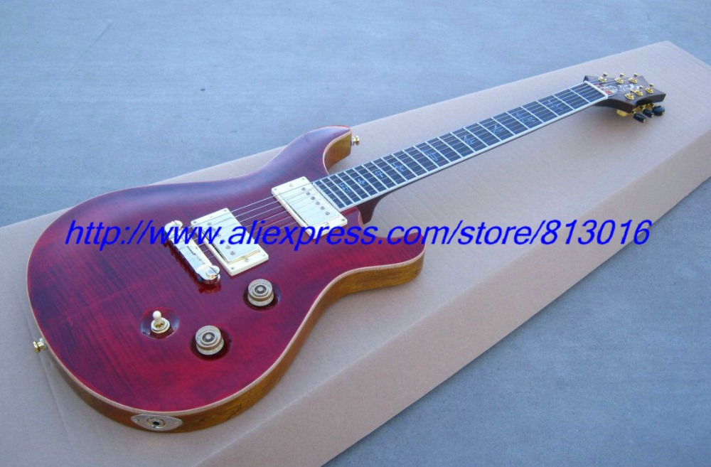 Здесь можно купить  New Beautiful PRS 25th Anniversary Modern Eagle electric guitar 6 string Red  Спорт и развлечения