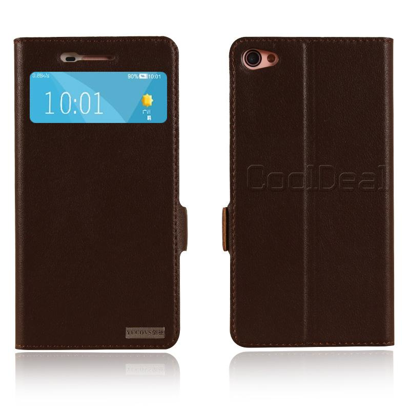 Retro Genuine Leather Flip Stand Cover Cases For Lenovo S60 S60T Luxury Mobile Phone Case(China (Mainland))