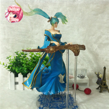 HOT Game Anime LOL Maven of the Strings Sona Action Figure 33cm Model Collection Toys Best Gift