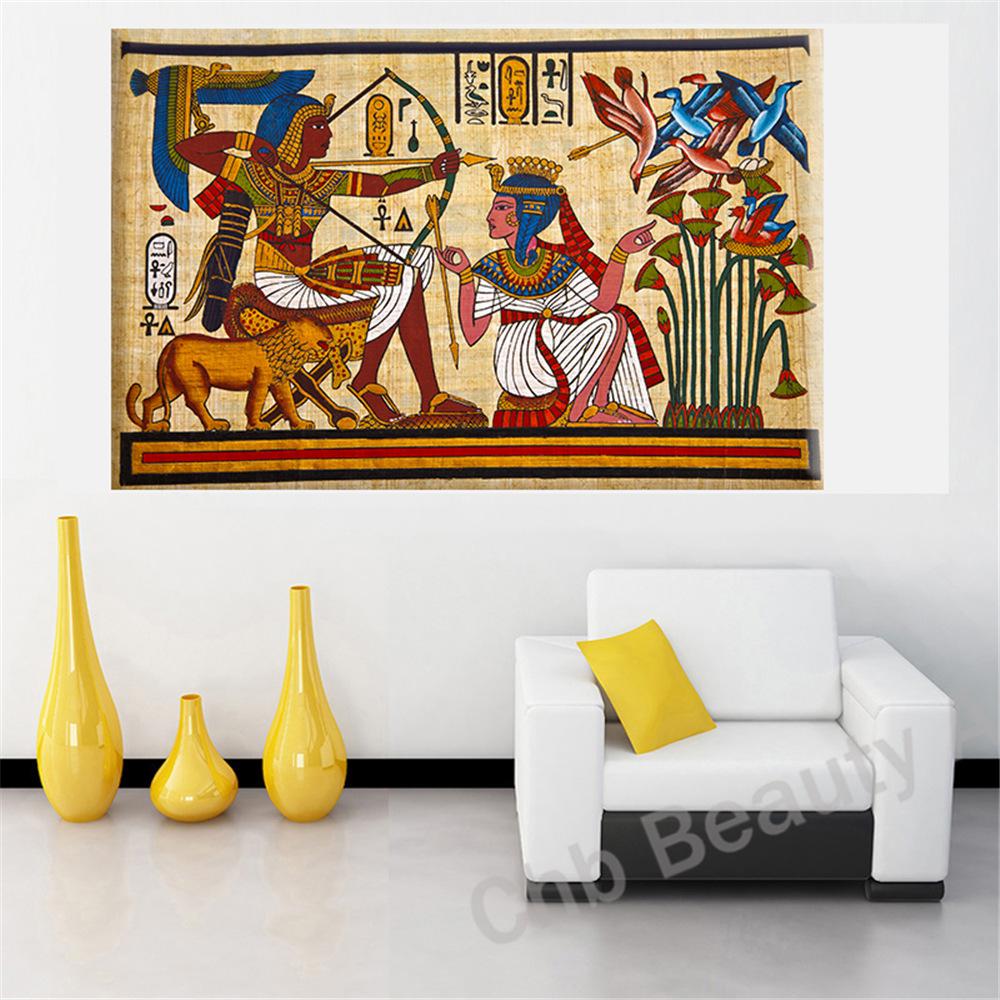 Commentaires egypte peintures faire des achats en ligne commentaires egypte peintures sur for Peinture mural salon