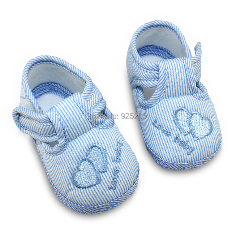New Cotton Lovely Baby Shoes Toddler Unisex Soft Sole Skid-proof 0-12 Months Kids infant Shoe 3 Colors(China (Mainland))