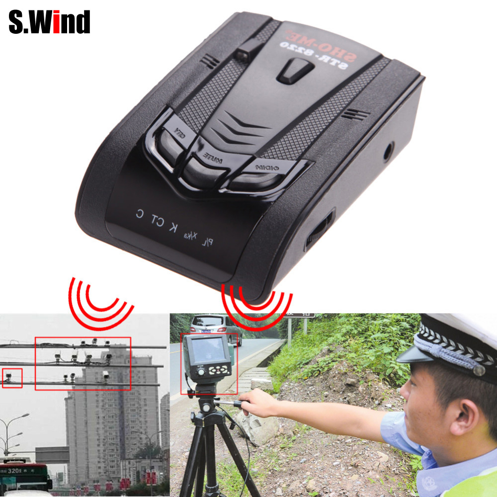 STR 8220 Car Radar Detector Speed Laser GPS Voice Alert Electronic Dog High Quality Free Shipping